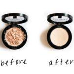 Как восстановить разбитые тени и пудру: простой способ