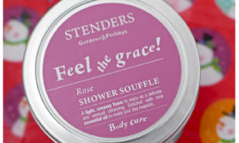 Stenders Rose Shower Souffle — розовый мусс для душа от Стендерс. Отзыв.