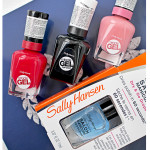Sally Hansen лак Miracle Gel + Sally Hansen сушка Salon Manicure Dry & Go Drops. Отзыв.