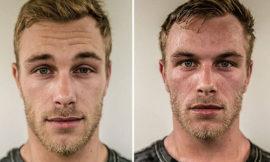 Как выглядят музыканты до и после концерта