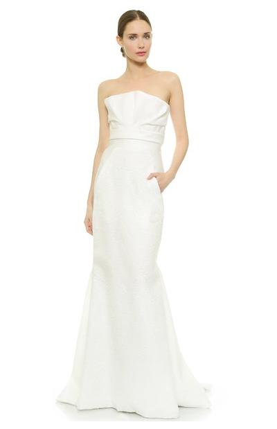 Свадебные платья с карманами: такое вообще возможно?)