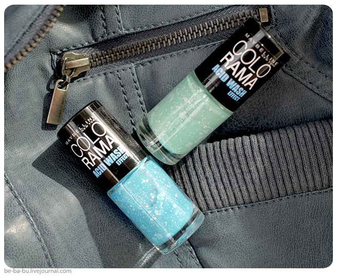 Maybelline Colorama Acid Wash – 246, 247, отзыв, свотчи