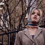 Как правильно носить платок и шляпу: Джорджия Мэй Джаггер в Vogue Italia