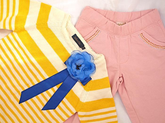 Вязаный свитер и спортивные брюки от Faberlic. Отзыв