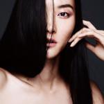 Мода в макияже: шиммер и сияние. Два образа в Vogue China May 2015