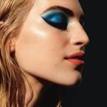 Градиент в макияже глаз и яркие акценты на губах в i-D Magazine Winter 2014