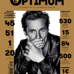 Моя любовь: Мэттью МакКонахи в L'Optimum Magazine