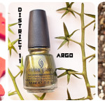 China Glaze Hunger Games Collection – Foie Gras, Agro, Smoke and Ashes. Отзыв, свотч, review, swatch