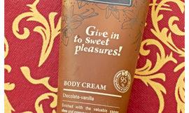 Шоколадно-ванильный крем для тела от Stenders. Отзыв, обзор