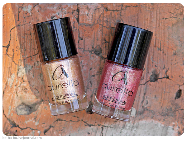 Aurelia Professional Velvet Effect N906, N907. Отзыв, обзор, свотчи.