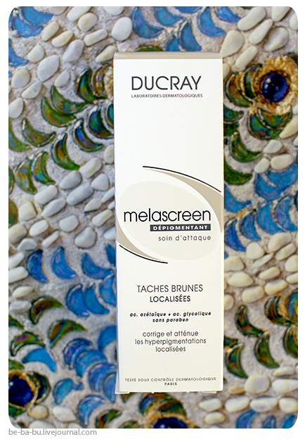 Корректор Дюкрэ Меласкрин - Ducray Melascreen Anti-Brown Spots Depigmentation. Отзыв, обзор, состав