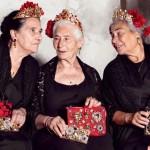 Старушки рекламируют Dolce & Gabbana