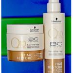 Schwarzkopf Professional BC Time Restore – Satin Spray Q10 Plus, Q10 Plus Treatment. Обзор, отзыв.