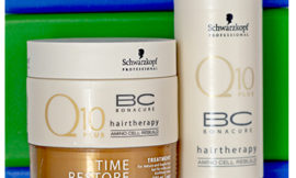 Schwarzkopf Professional BC Time Restore — Satin Spray Q10 Plus, Q10 Plus Treatment. Обзор, отзыв.