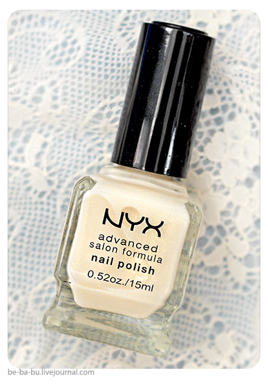 NYX French Manicure - First Dance. Обзор, отзыв, свотчи.