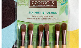 EcoTools, Bamboo Mini Brushes, 6 Brushes. Обзор, отзыв.