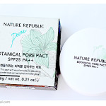 Nature Republic Botanical Pore Pact SPF25 PA++. Обзор, отзыв.