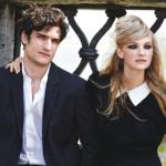 Кэролайн Трентини и Луи Гаррель в Vogue US June 2014. Римские каникулы