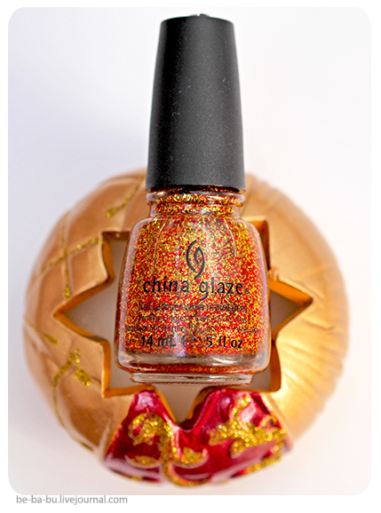 China Glaze Hunger Games Collection - Electrify. Обзор, отзыв.