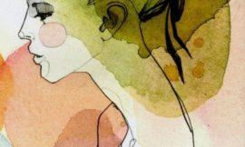 Акварельные fashion-иллюстрации немецкой художницы с русским именем