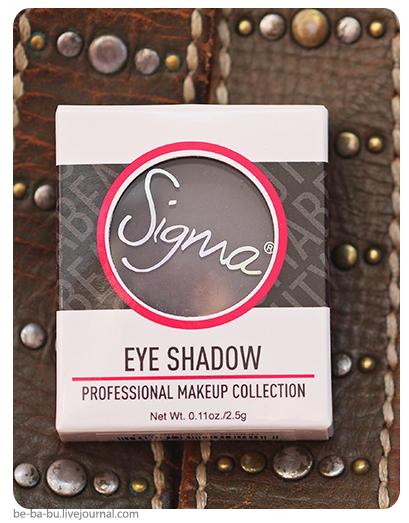 Тени для век Sigma Eye Shadow - Snoop. Отзыв, обзор, свотчи, макияж, swatch.