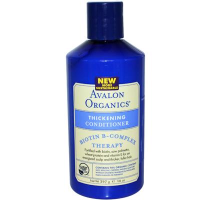 Avalon Organics, Biotin B-Complex Therapy, Thickening Shampoo. Отзыв.