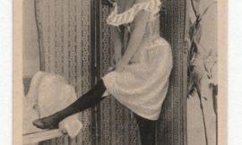 Изображения женщин на сигаретных карточках, которые считались неприличными в начале 1900-х