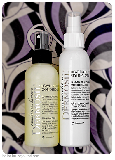 Dermosil - спрей-термозащита для волос, спрей для волос ухаживающий. Обзор, отзыв.