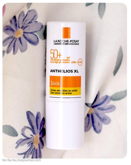 Защита от солнца без спирта: La Roche-Posay Anthelios XL SPF 50+ Stick. Отзыв, обзор.