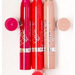 Rimmel – Помада-бальзам Lasting Finish Colour Rush. Обзор, отзыв, свотчи, фото, макияж.
