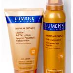 Natural Bronze Мусс-автозагар для тела и лосьон с эффектом постепенного загара от Lumene. Отзыв.