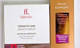Сыворотка «Корректор глубоких морщин» и сыворотка для стимуляции роста волос от Faberlic. Отзыв.