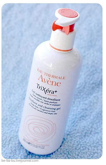 Авен Трикзера+ Селектиоз. Очищающий смягчающий гель. Avene TriXera+ selectiose Gel. Обзор, отзыв. Состав