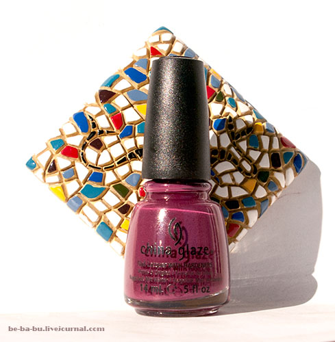 China Glaze. Purr-fect Plum 1074. Отзыв. Review