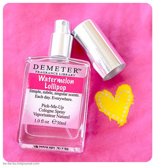 Demeter Fragrance Library — Watermelon Lollipop «Арбузный леденец». Обзор, отзыв.