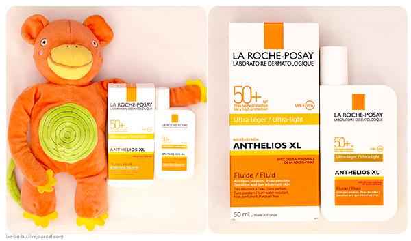 La Roche-Posay - Anthelios XL Ультралегкий флюид SPF 50+/PPD 42. Обзор, отзыв. Состав