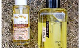 Натуральное аргановое масло Diar Argan и массажное масла для тела Essentially Yours. Обзор, отзыв.