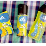 Туалетная вода, дезодорант, гель для душа Adidas Get Ready Men. Отзыв, обзор.