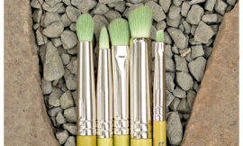 Bdellium Tools, Green Bambu Series, Smoky Eyes, 5 Piece Brush Set. Обзор, отзыв.