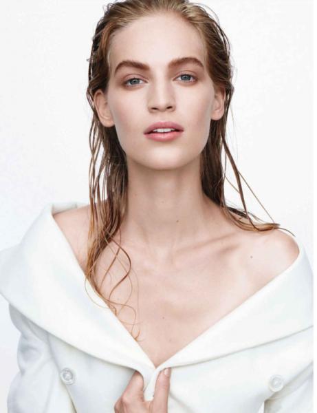 Акценты в макияже: брови. Vogue Germany September 2014