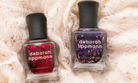 Deborah Lippmann Ruby Red Slippers и Let's Go Crazy. Отзыв. Свотчи.