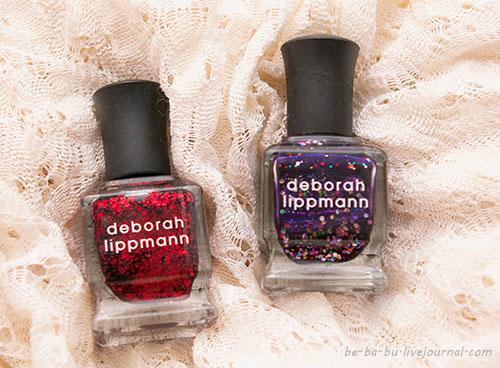 Deborah Lippmann Ruby Red Slippers и Let