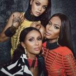 Иман, Наоми Кэмпбелл и Рианна в W Magazine