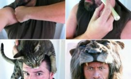 Makeup Transformation – пародии на изменение внешности при помощи макияжа