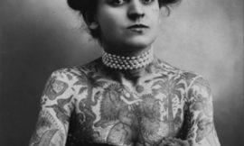 Мод Стивенс Вагнер – первая женщина-татуировщик