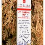 СС-крем Совершенное сияние SPF45 Erborian CC Cream HD with Centella Asiatica SPF45. Обзор, отзыв.