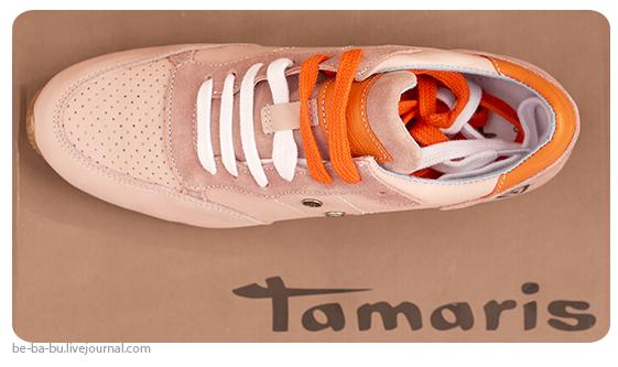 Выгодная покупка: кроссовки Tamaris. Обзор, отзыв.