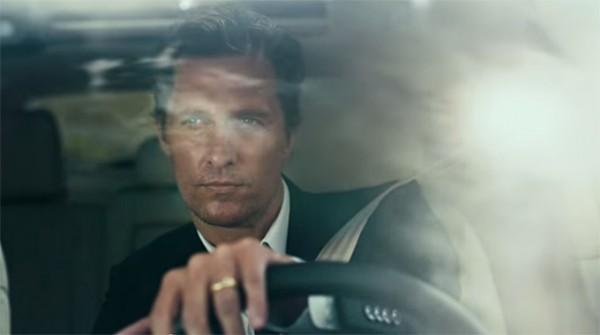 Образ Мэттью МакКонахи из Настоящего детектива использовали в рекламе