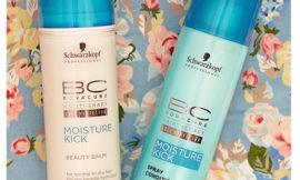 Schwarzkopf Professional BC Bonacure Moisture Kick Beauty Balm, Spray Conditioner. Отзыв, обзор.