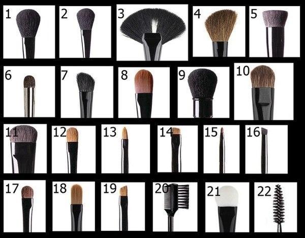 Чем различаются кисти для макияжа в плане нанесения текстур
